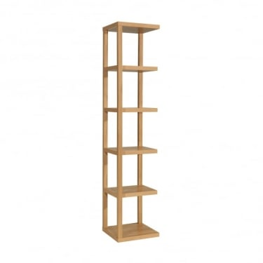 LPD Furniture Ontario Oak Display Unit (ONTARIO)