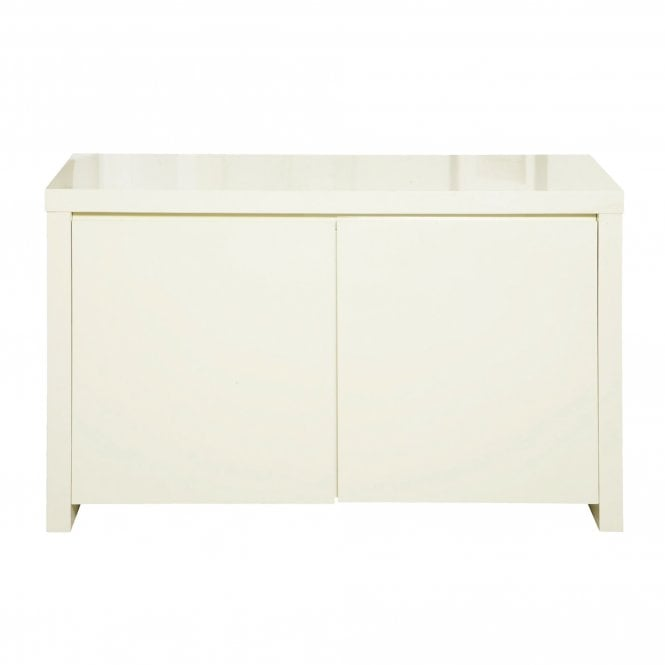 Lpd furniture puro cream high gloss sideboard leader stores for Sideboard puro