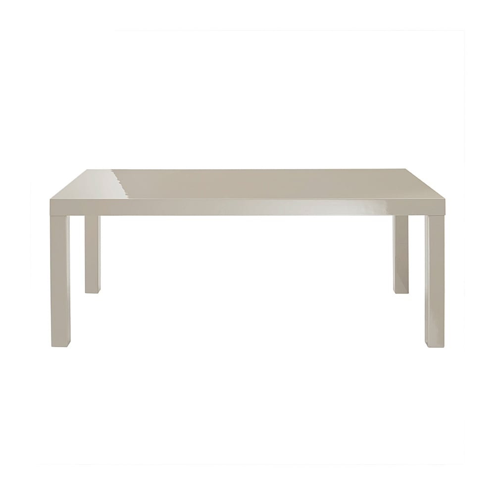 Lpd Furniture Accent White Coffee Table: LPD Furniture Puro High Gloss Stone Coffee Table (PUROCOF