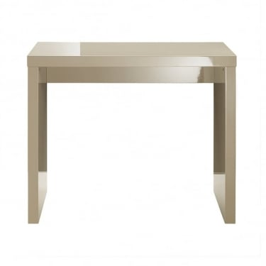LPD Furniture Puro Stone High Gloss Console Table
