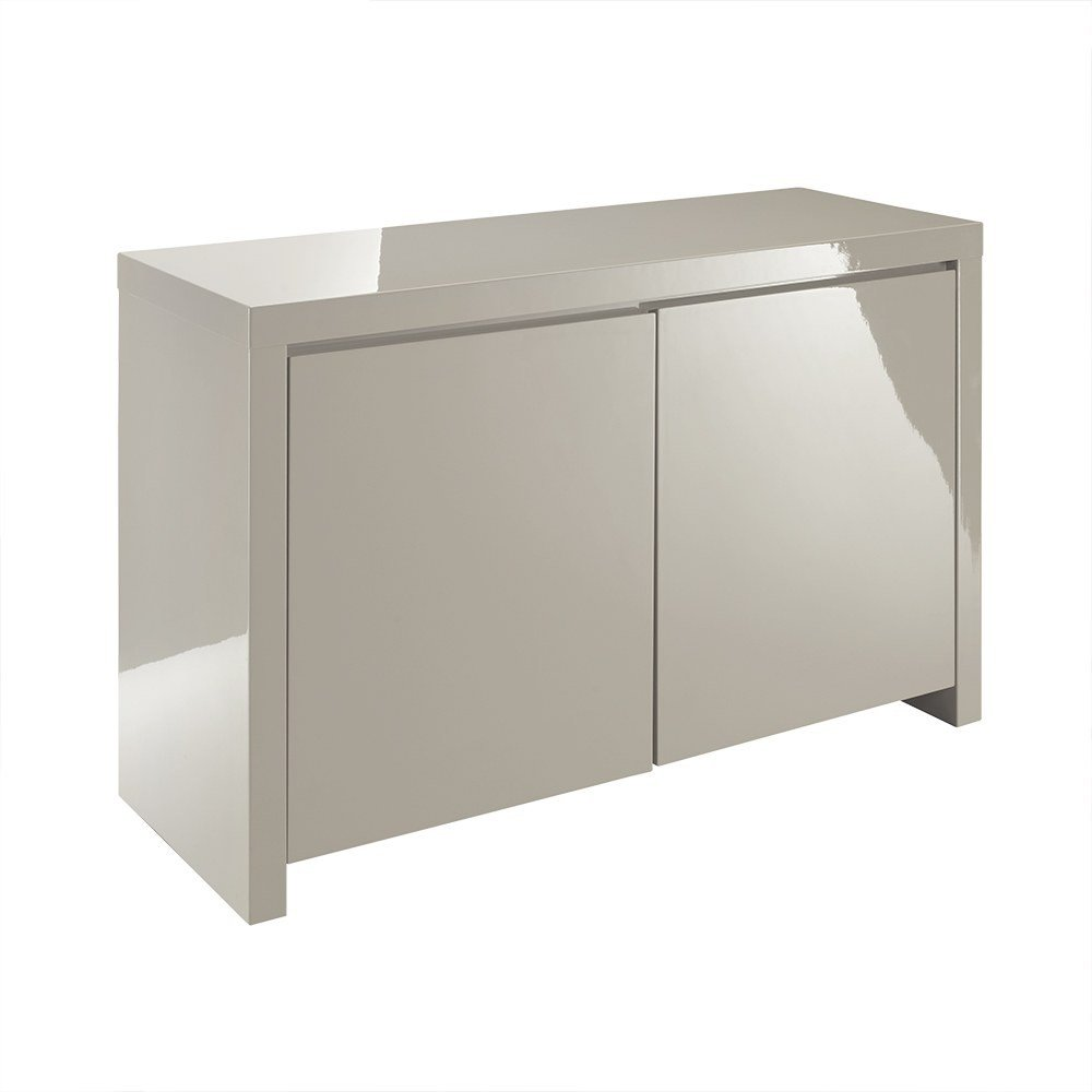 lpd furniture  puro stone high gloss sideboard  leader stores -