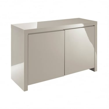 LPD Furniture Puro Stone High Gloss Sideboard
