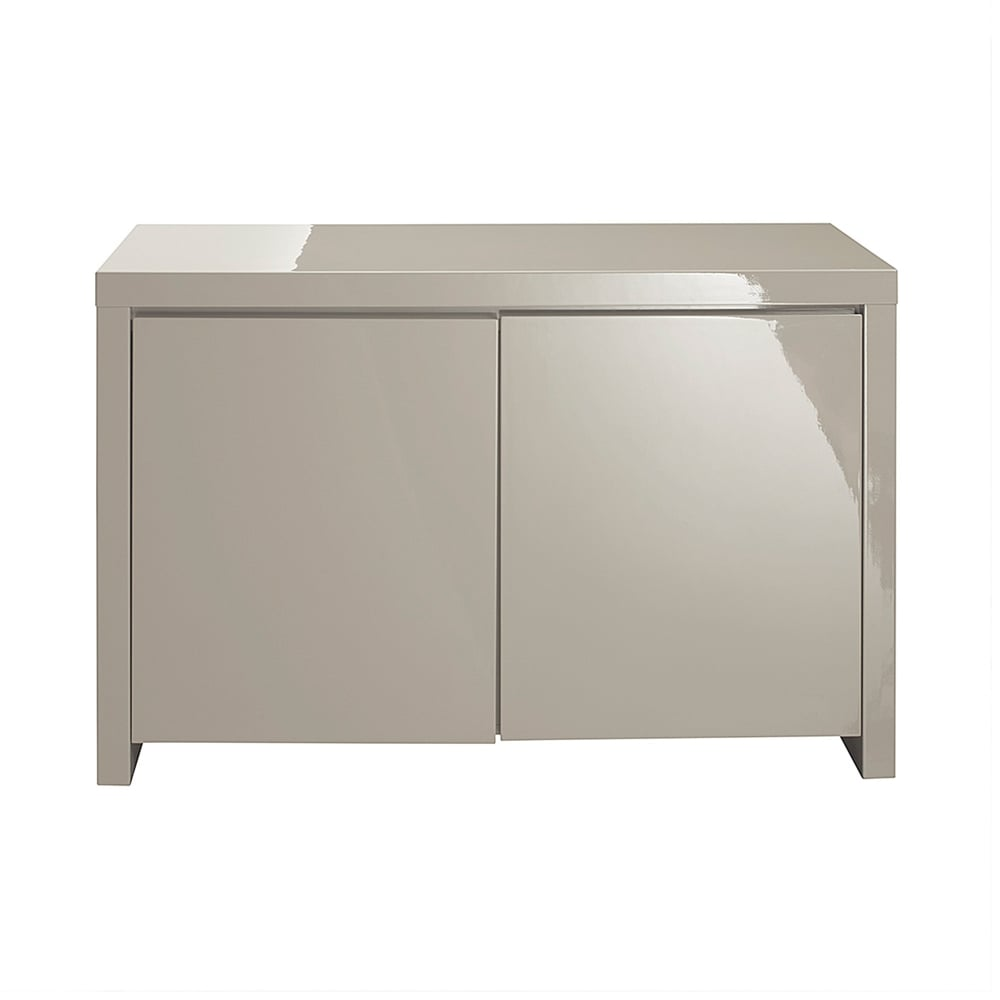 lpd furniture puro stone high gloss sideboard leader stores. Black Bedroom Furniture Sets. Home Design Ideas