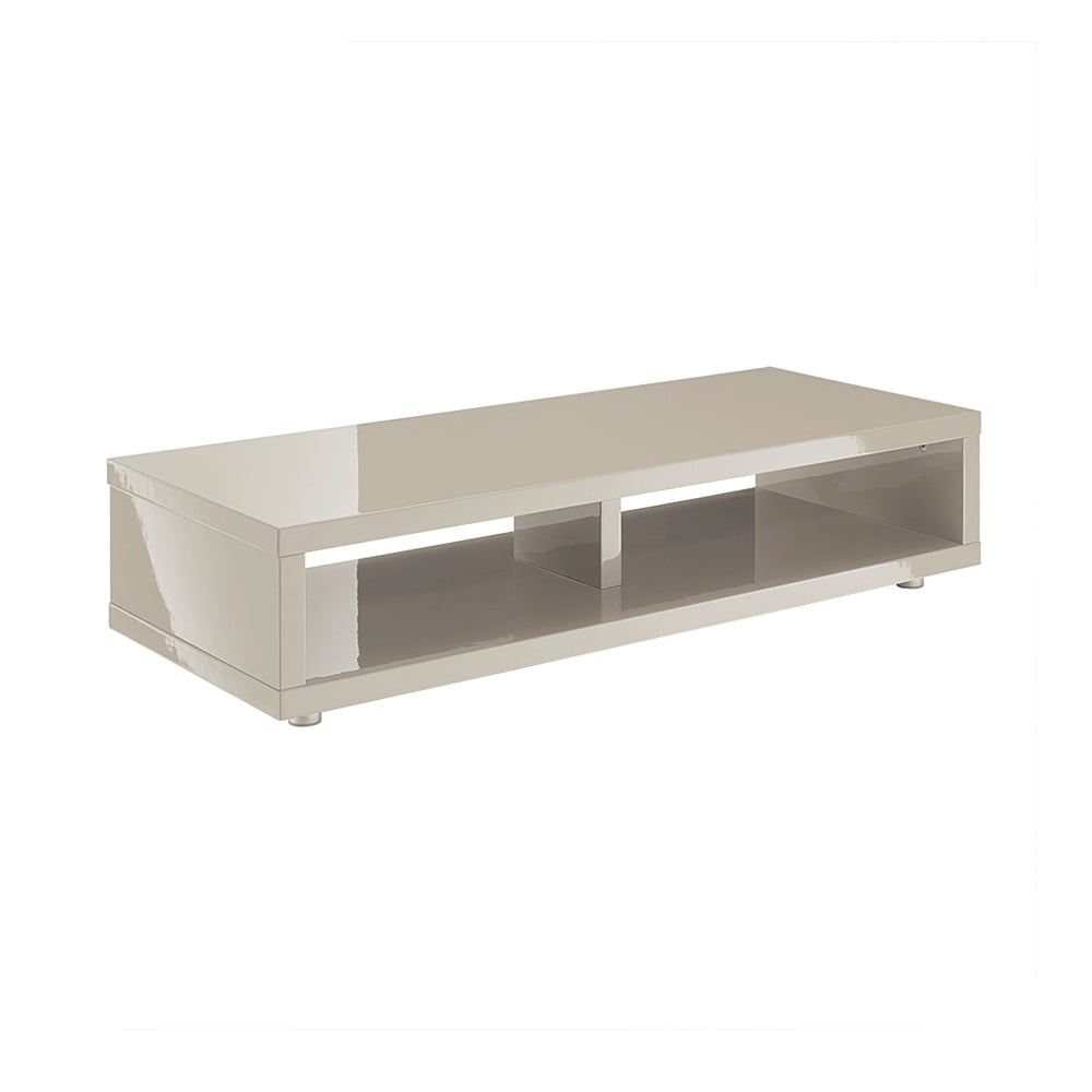 lpd furniture puro stone high gloss tv stand leader stores. Black Bedroom Furniture Sets. Home Design Ideas