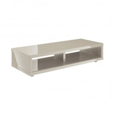 LPD Furniture Puro Stone High Gloss TV Stand