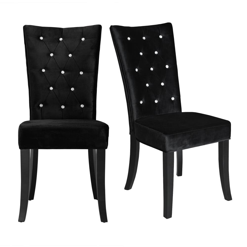 Lpd Furniture Radiance Black Dining Chair Radianbla