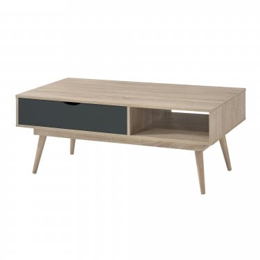 LPD Furniture Scandi Grey Coffee Table (SCANDICOFGREY)