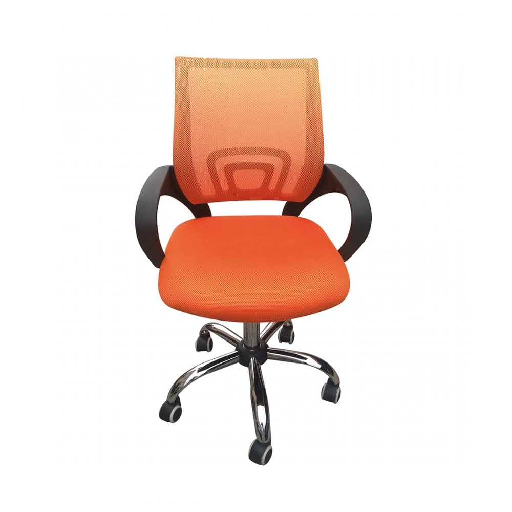lpd furniture tate orange office chair leader stores