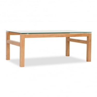 LPD Furniture Tribeca Oak Coffee Table (TRIBECCOF)