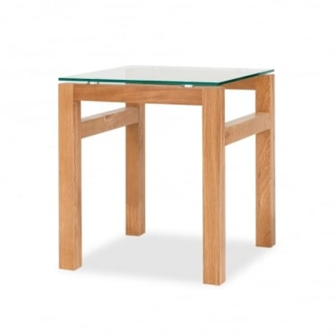 LPD Furniture Tribeca Oak End Table