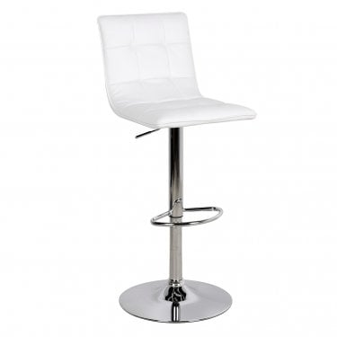 LPD Furniture Vigo White Bar Stool