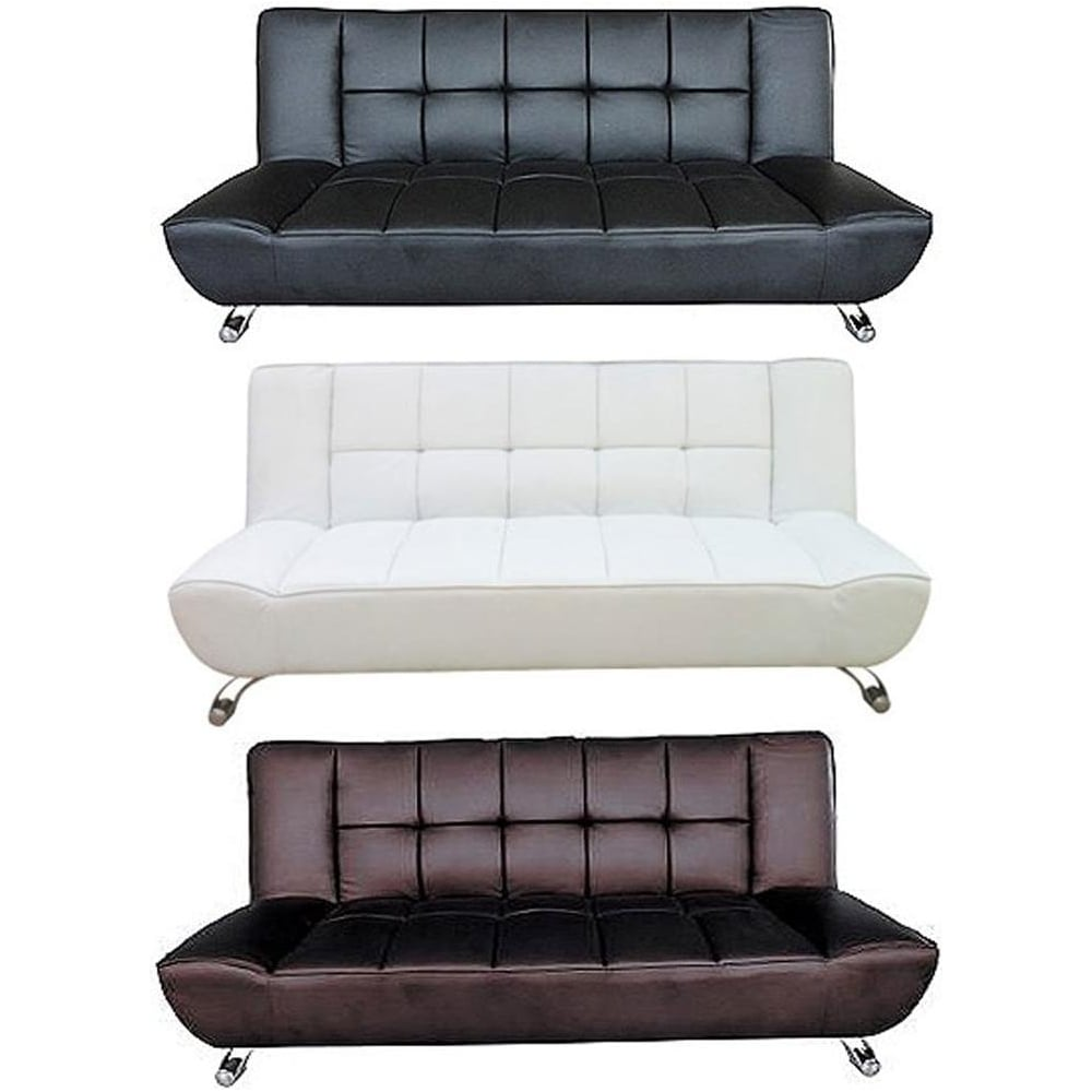 Lpd Furniture Vogue Faux Leather Sofa Bed Available At Leader Stores