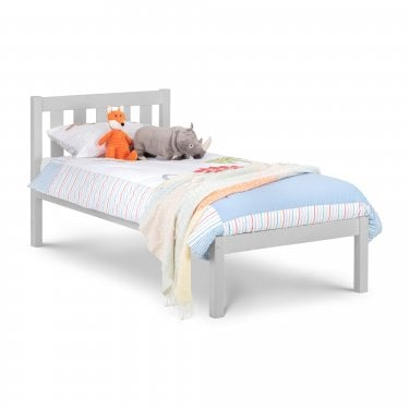 Luna Dove Grey Single Bed