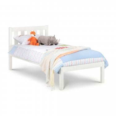 Luna Surf White Single Bed