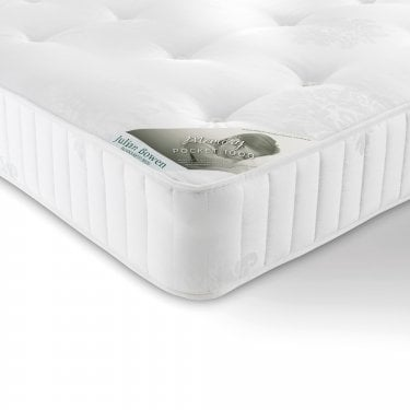 Lux Memory Kingsize Mattress, White