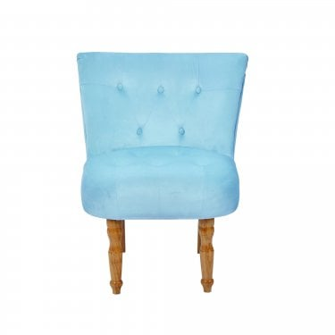 Lydia Duck Egg Blue Occasional Chair