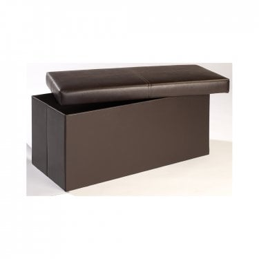 Madrid Large Ottoman, Black