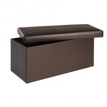 Madrid Large Ottoman, Brown