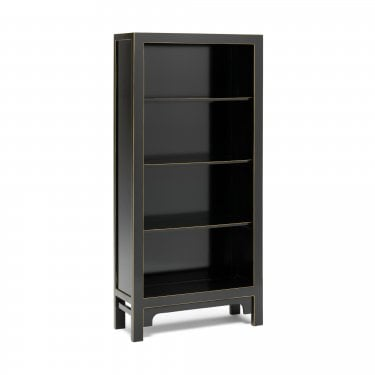 Mai Large Bookcase, Black