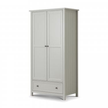 Maine Dove Grey Combination Wardrobe