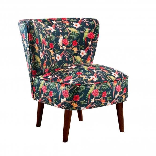 Malmesbury Shangri-La Accent Chair, Black