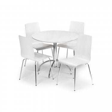 Mandy Dining Chair Set Of 2, White