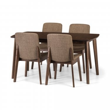 Marco Dining Set Of 4, Walnut