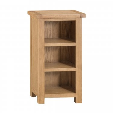 Marston Narrow Bookcase, Real Oak