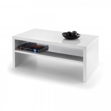 Metro White High Gloss Coffee Table