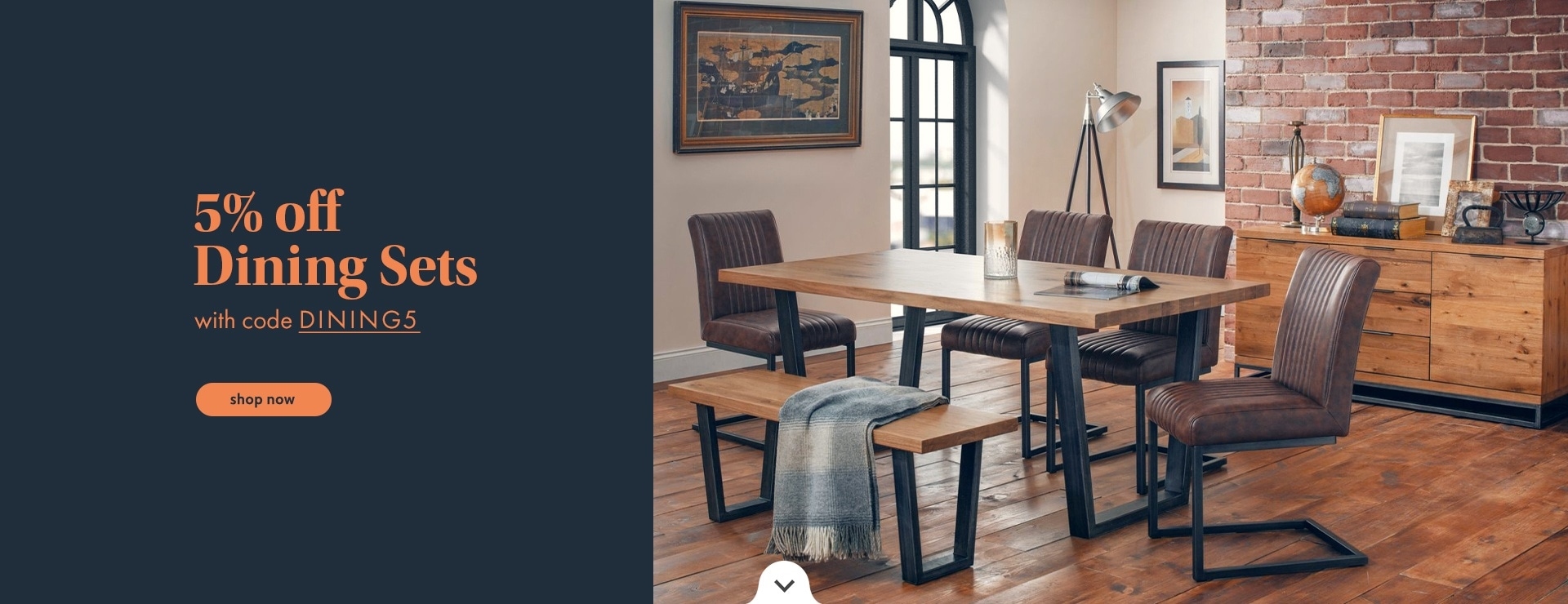 5% OFF Dining Sets