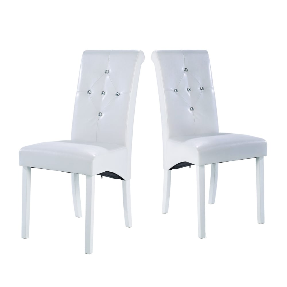 Lpd Furniture Monroe White Dining Chair Leader Stores