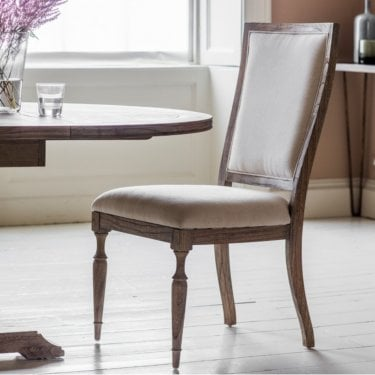 Mustique Dining Chair, Aged Mindy Ash