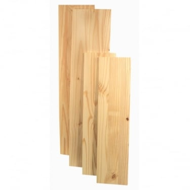 Natural Wood 1050x200mm Shelving Board