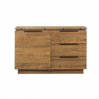 New York Rustic Pine Small Sideboard