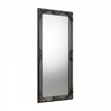 Nomad Standing Mirror, Pewter
