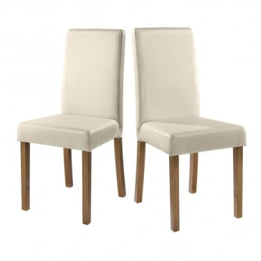 Oakridge Cream Dining Chair Pair