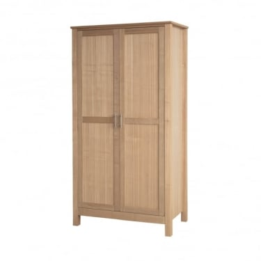 Oakridge Oak 2 Door Wardrobe