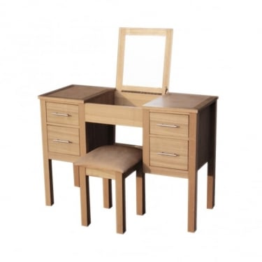 Oakridge Oak Dressing Table & Stool