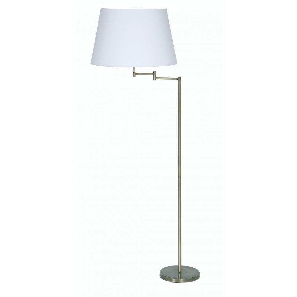 lighting oaks lighting armada antique brass swing arm floor lamp. Black Bedroom Furniture Sets. Home Design Ideas
