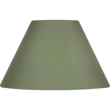 Oaks Lighting Cotton Coolie Sage Fabric Shade