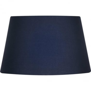 Oaks Lighting Cotton Drum Navy Fabric Shade
