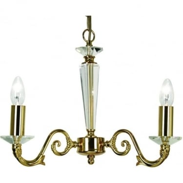 Oaks Lighting Decorative Wren Gold Plated Pendant Light