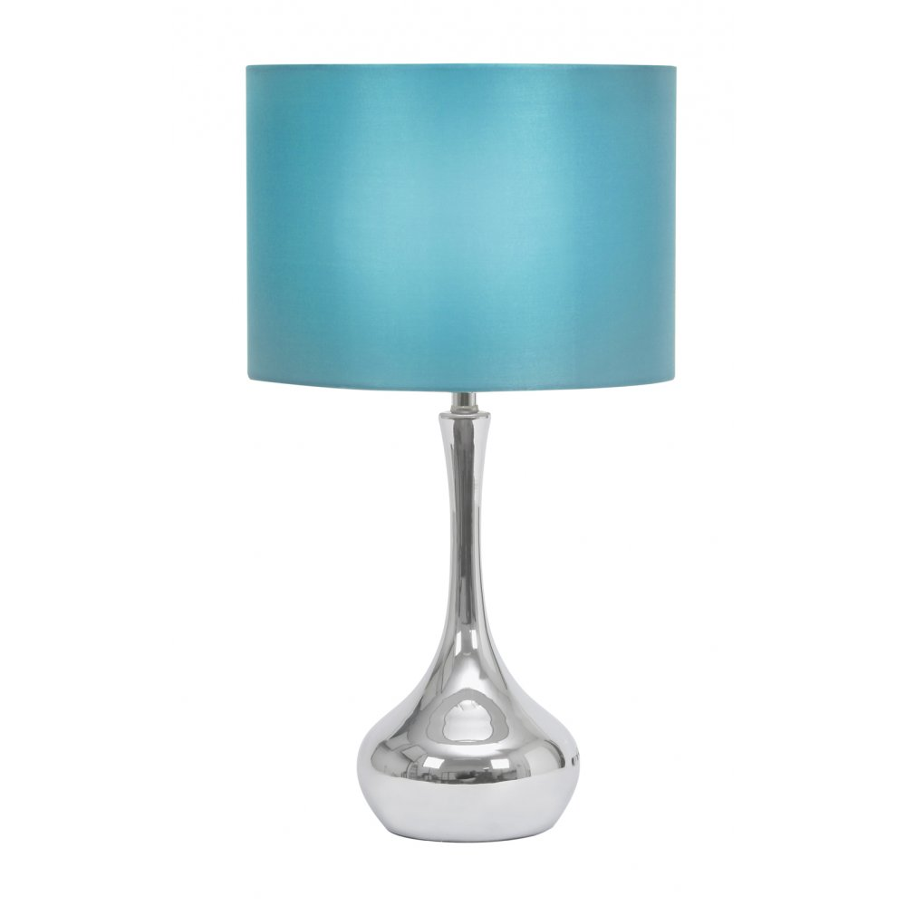 table lamps oaks lighting oaks lighting juno blue table lamp. Black Bedroom Furniture Sets. Home Design Ideas