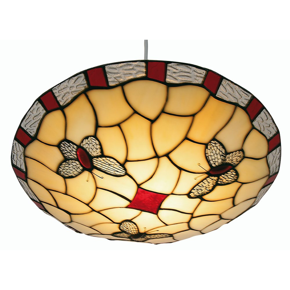 Oaks lighting stained tiffany stained glass indoor ceiling light ot oaks lighting stained tiffany stained glass indoor ceiling light ot 1000 rd leader lights aloadofball Gallery