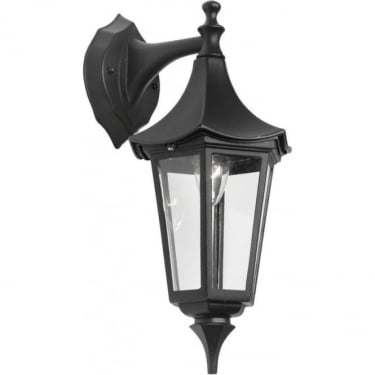 Oaks Lighting Witton Black Outdoor Down Lantern