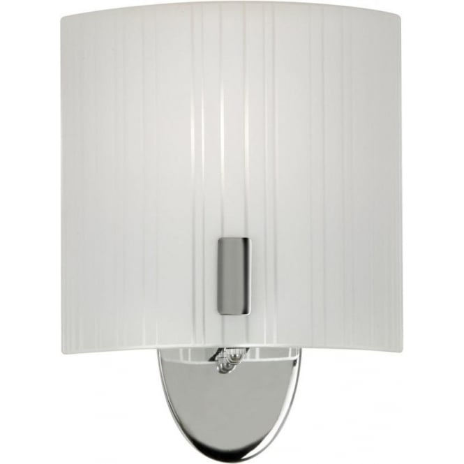 Cuba Wall Light Chrome : Oaks Lighting Zafra Satin Chrome Wall Light Leader Stores