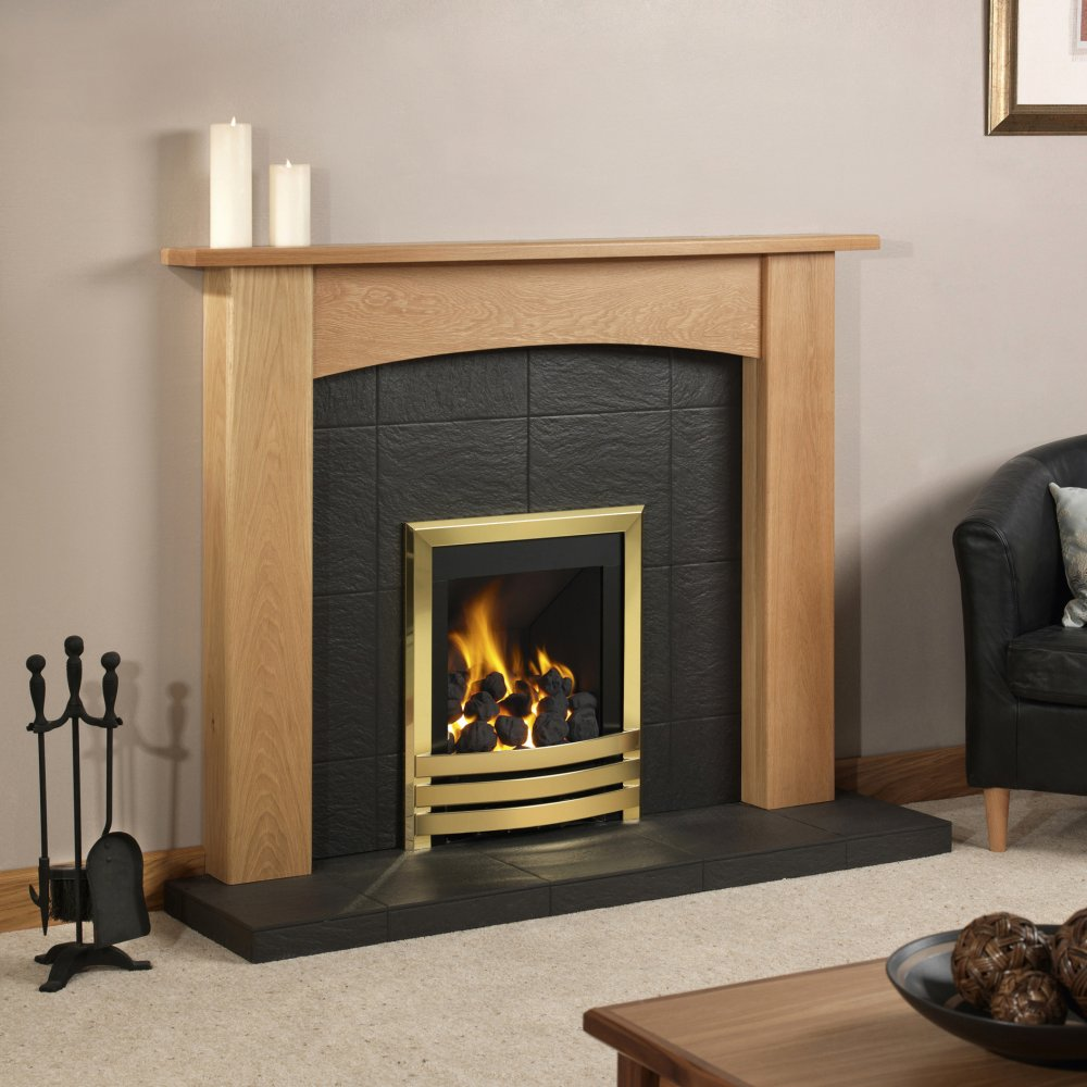Slate Fireplace Hearth Viewing Gallery