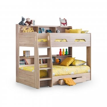 Orion Sonoma Oak Single Bunk Bed