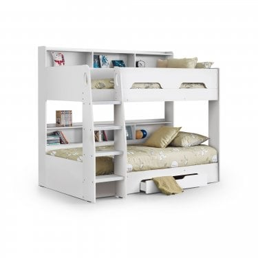 Orion White Bunk Bed