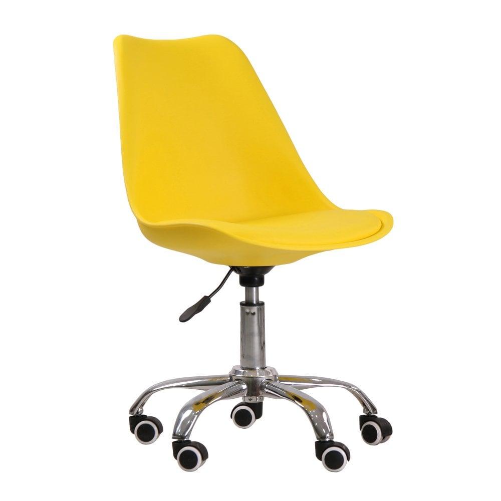 Orsen yellow office chair